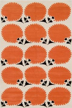 Great pattern and color. To keep the orange glass bowl company.  #LGLimitlessDesign & #Contest