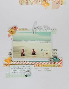 blog post that talks about instagram and pixlromatic to make scrap book pages