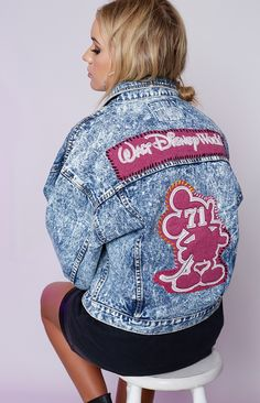 c54b4a564565 Feel like the happiest person on earth while you rock the Vintage Walt  Disney World Denim