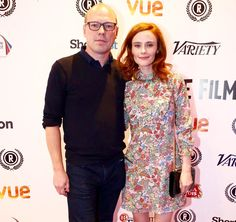 """Director Martin Stitt and Actress Rebecca Calder arrive at the 23rd Raindance Film Festival Premiere of the Best UK Nominated Feature """"Love Me Do"""""""