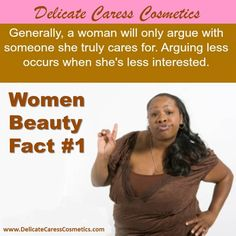 Women Beauty Fact >>> Generally, a woman will only argue with someone she truly cares for. Arguing less occurs when she's less interested. Beauty Women, Delicate, Beautiful Women, Facts, Cosmetics, Woman, Women, Fine Women, Stunning Women