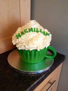 Macmillan coffee morning giant coffee cup