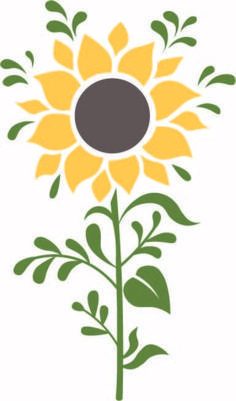 Free Sunflower SVG Cut File SVG cut files for the Silhouette Cameo and Cricut. Craftables: Fast shipping, responsive customer service, and quality products svg files for cricut flowers Free Sunflower SVG Cut File Hirsch Silhouette, Vogel Silhouette, Silhouette Machine, Cricut Vinyl, Svg Files For Cricut, Sunflower Stencil, Sunflower Pattern, Sunflower Template, Sunflower Design