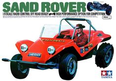 58024 Sand Rover Boxart (My first RC Car)