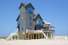 "The Inn at Rodanthe as it was named in the movie based on Nicholas Sparks popular novel, ""Nights In Rodanthe,"" starring Richard Gere and Diane Lane, is the most famous home on Hatteras Island.   http://www.sunrealtync.com/house/r-51"