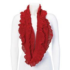 Red Fashion Scarf