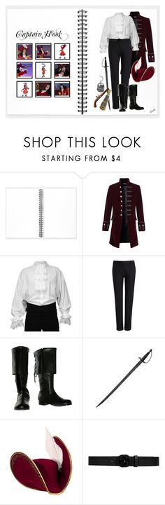 """""""Captain Hook (1683)"""" by trufflelover ❤ liked on Polyvore featuring Muji, REGENCY, Joseph, Gucci, men's fashion and menswear"""