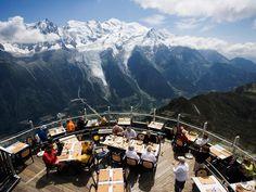 """Mont Blanc """"Le Panoramique"""" Restaurant in Le Brévent, Chamonix, France: Lu Chien-Ping - Imgur"""