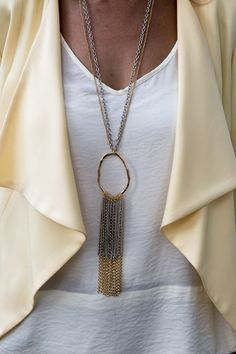 Don't miss out on our beautiful Lemon Drop jacket and silver/gold chain fringe necklace, perfect pieces for Spring and BOTH PART OF OUR 24 HR FLASH SALE - 15% OFF WITH CODE FS31 AT CHECKOUT PLUS FREE US SHIPPING www.jacketsociety.com