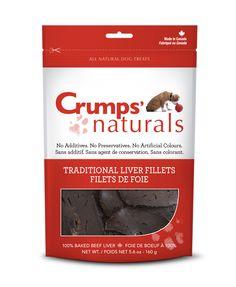 Crumps' Naturals, Traditional Liver Fillets