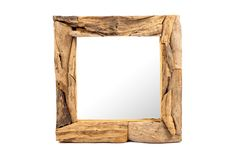 Erosion Teak Mirror - S Bedroom Decor, Wall Decor, Mirror Panels, Wooden Frames, Wood Furniture, Solid Wood, Rustic, Teak Wood, Bed Room