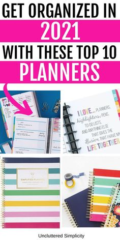 Congrats! You've made the decision to commit to getting organized once and for all. But with so many planner options on the market, how do you choose the perfect planner/organizer to fit your individual needs? After hours of research, I present to you my personal picks for the 10 best planners and organizers for 2021. Best Weekly Planner, Mom Planner, Planner Pages, Printable Planner, Best Planners For Moms, Day Planners, Organizing Life, Planner Organization, Perfect Planner