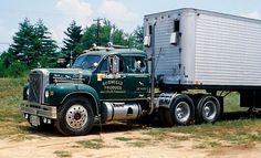 Old B Model Mack Trucks | Mack B model factory sleeper cab | MACK BULLDOG | Pinterest