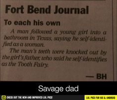 Savage dad funny pics, funny gifs, funny videos, funny memes, funny jokes. LOL Pics app is for iOS, Android, iPhone, iPod, iPad, Tablet