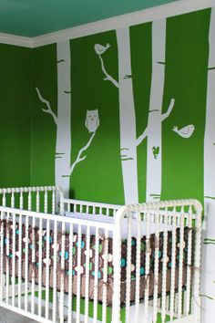 Forests, Nurseries and Green on Pinterest