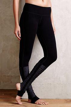 Static Stripe Legwarmer Leggings - anthropologie.com #anthroregistry