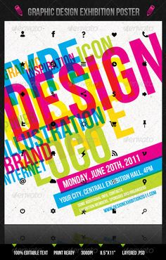 GraphicRiver Graphic Design Exhibition Poster Flyer 231772