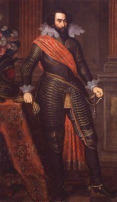 Hendrik van den Bergh, ca. 1618 (Otto van Veen) (1556-1629) Kasteel Huis Bergh, 's-Heerenberg