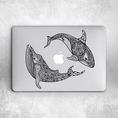 Dolphin Whale Mandala Hard Cover Case For Macbook Pro Retina Air 11 12 13 15 Macbook Pro Accessories, Desktop Accessories, Macbook Pro Tips, Macbook Pro Retina, Iphone 5s Screen, Mac Notebook, Gold Apple Watch, Unlock Iphone, New Ipad Pro