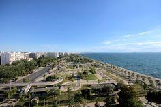 Νέα Παραλία - ανατολικά Photo Walk, Thessaloniki, Macedonia, Daydream, Athens, Paris Skyline, Places To Visit, Tower, Colours