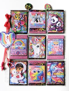 Lisa Frank Pocket Letter - by CJ