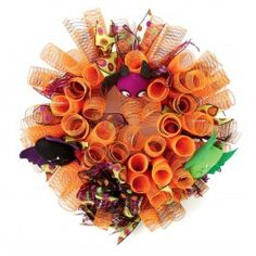 Nicole™ Crafts Bat Deco Mesh Wreath