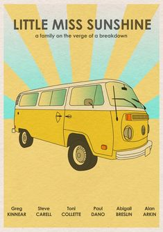 16x12 Movie Poster Print Little Miss Sunshine