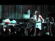 ▶ Nicolas Jaar feat Gisela João and Dave Harrington - Os Vampiros (live at Lux) - YouTube