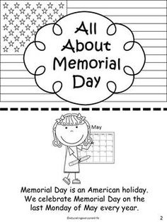 MEMORIAL DAY - A fun take home book for students to help them understand the importance of Memorial Day. Students color and read this cute book. I have my students practice reading in class and they also can share with their families. Teaching First Grade, 1st Grade Math, Second Grade, Memorial Day Coloring Pages, Memorial Day Usa, Memorial Day Activities, Military Crafts, Teaching Activities, Teaching Ideas