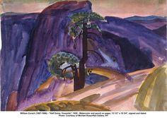 William Zorach'Half Dome, Yosemite', 1920