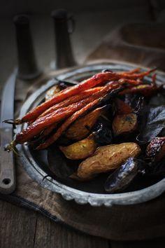 Roasted Winter Vegetables | The Flourishing Foodie
