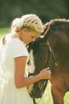 i want to ride a horse after being married!