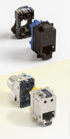 Connecteurs LCS², cat. 6 FTP 250 MHz et cat. 6A STP blindé 500 MHz: