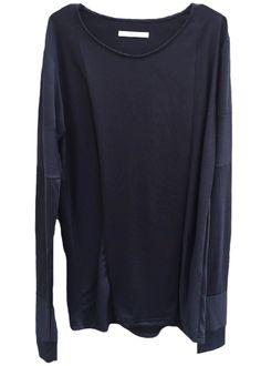 zero - Fine Extra Long Staple Supima Cotton Long Sleeve Cut Sewn - 14,200JPY