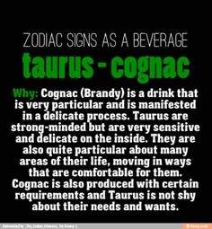 Taurus as a Drink