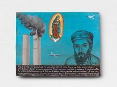9/11 retablo, by Alfredo Vilchis