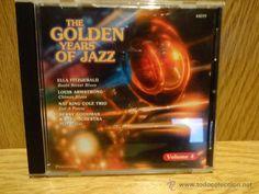THE GOLDEN YEARS OF JAZZ. VOLUME 4. CD / MCPS - 16 TEMAS / CALIDAD LUJO.