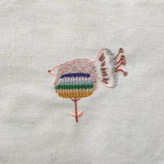 Planta oso ~ encargo para recién nacidx .Bear plant ~ commissioned work for a newborn.#embroidery #handembroidery #bordado #bordadoamano #bear #oso #plant #planta  #Regram via @soymigadepan Hand Embroidery, Plants, Embroidery