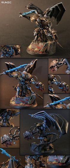 Chaos, Daemon Prince, Daemons, Iron Warriors, Khorne, Nurgle, Power Armour, Saw, Slaanesh, Tzeentch, Winged