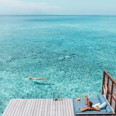 Maldives serenity. Take me there.