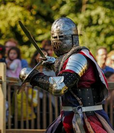 Medieval festival at Fort Tyron Park.