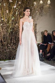 Mira Zwillinger Bridal Spring 2017 / Wedding Style Inspiration / LANE