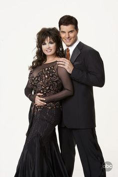 DWTS Season 5 Cast Celebrity Marie Osmond and Professional Jonathan Roberts