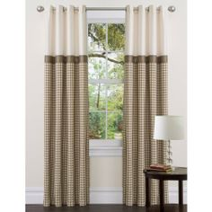 Lush Decor Waldorf Panel, 84-Inch by 54-Inch, Taupe by Lush Decor. $33.26. 84-Inch long by 54-inch wide. Dry clean. Includes: 1 panel. Grommet. 100-Percent polyester. Lined window panel. Metal grommets slide onto curtain rod for installation. Triangle Home Fashions is a dynamic organization, managed by determined professionals to carve a niche for itself in the home fashions industry. When it comes to your home fashion products needs-leave everything to us-we will wo...