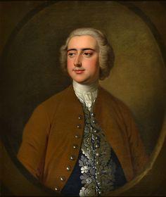 Portrait of an unknown gentleman by Thomas Hudson (1701-1779)