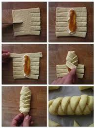 Risultati immagini per treccia di pasta sfoglia con marmellata