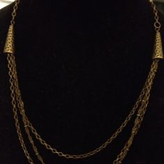 Antique brass necklace  NEW Antique brass chain necklace, handcrafted. Jewelry Necklaces