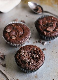 Kladdkaksmuffins plus tips! Fika, Lchf, Paleo, Gluten Free, Sweets, Vegan, Cookies, Breakfast, Desserts