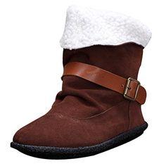d52fcf14e7e201 MatchLife Women s Winter Fleece Boots 35 Black