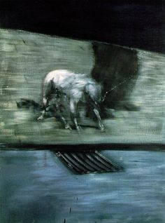 Francis Bacon - Man with Dog